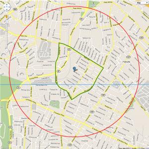 Map Greater Harford Park